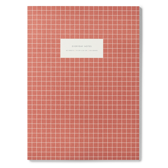 Large Check Notebook by Kartotek