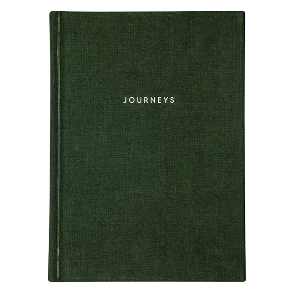 Journeys Travel Journal by Kartotek