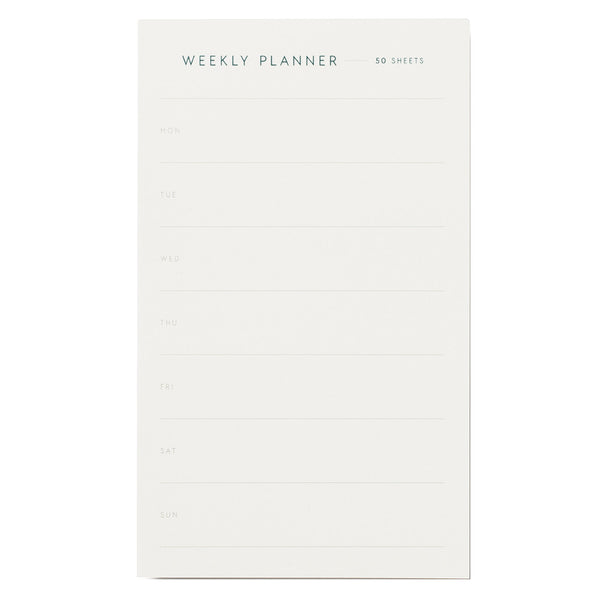 Weekly Planner Notepad Small by Kartotek