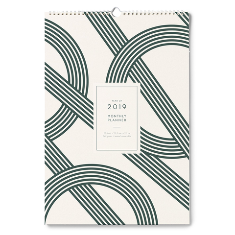 Wall Calendar 2019 by Kartotek