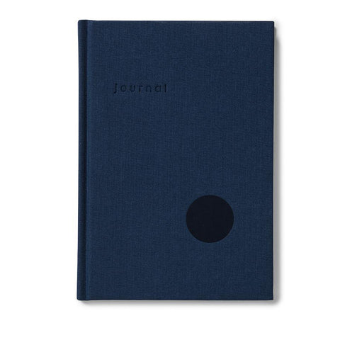 Navy Dot Journal (dot grid) by Kartotek