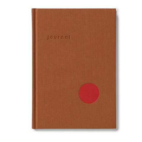 Ochre Dot Journal (blank) by Kartotek