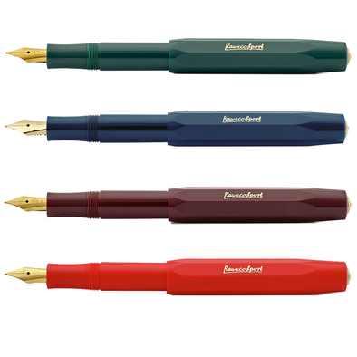 Classic Sport Fountain Pen by Kaweco