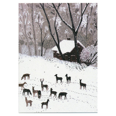 Becca Stadtlander Winter Card by Little Otsu