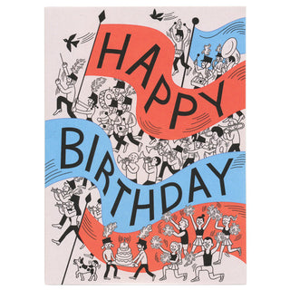 Tomi Um Happy Birthday Card by Little Otsu
