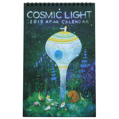 APAK Cosmic Light 2015 Calendar by Little Otsu