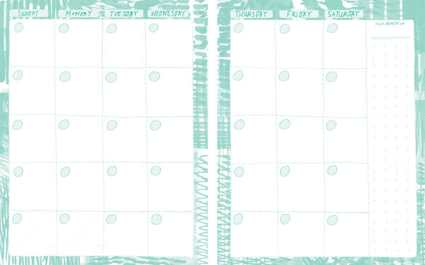 Little Otsu Annual Vol. 10 Weekly & Monthly Planner