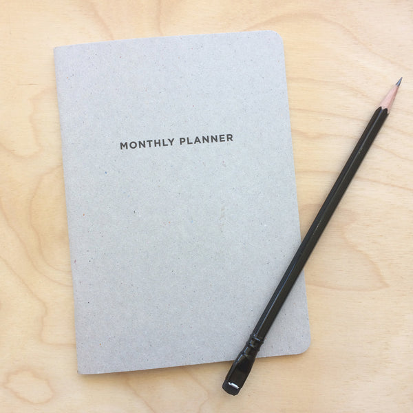 Monthly Planner by Little Otsu