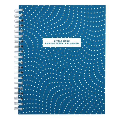 Little Otsu Annual Vol. 12 Dots Weekly & Monthly Planner