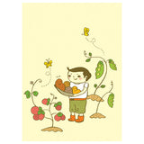 Ayumi Piland Gardener Card by Little Otsu