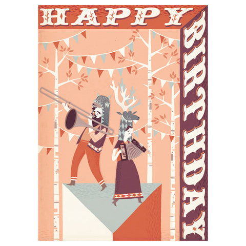 Stuart Kolakovic Happy Birthday Card by Little Otsu