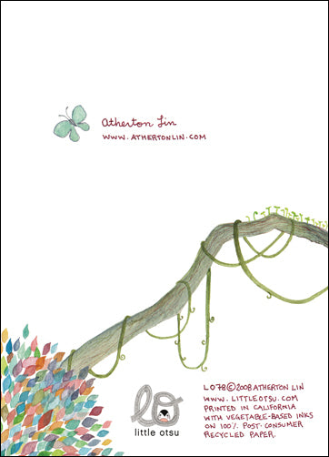 Atherton Lin Thank You Card by Little Otsu
