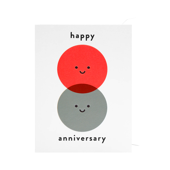 Cozy Happy Anniversary Card by Lagom