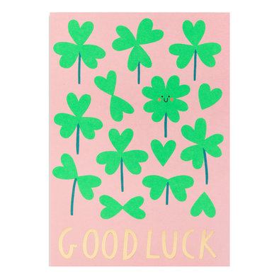 Susie Hammer Good Luck Card by Lagom
