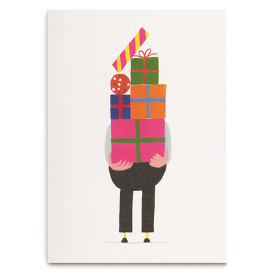 Daniel Frost Pile of Presents Card by Lagom Design