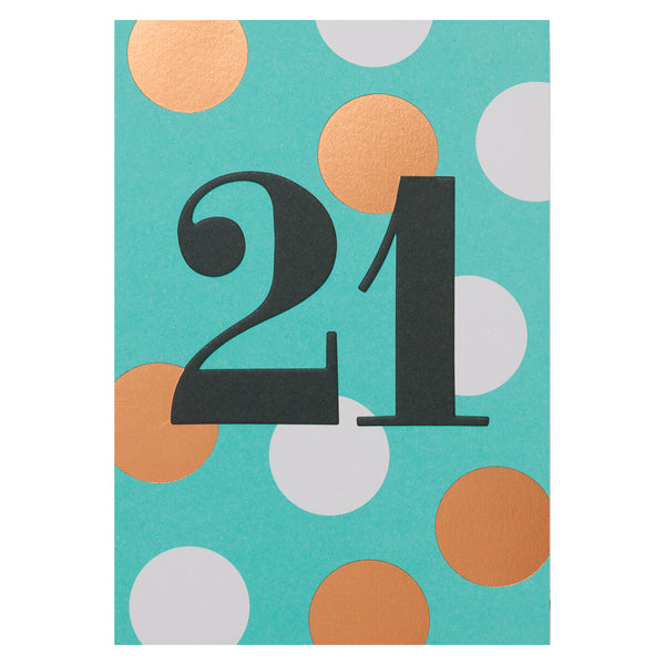 Postco 21 Card by Lagom Design