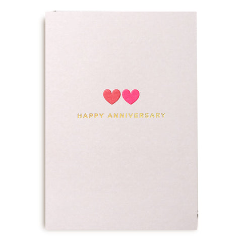 Postco Happy Anniversary Card by Lagom Design