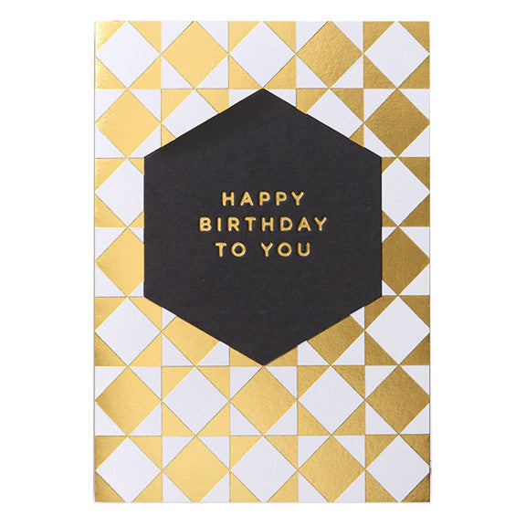 Postco Happy Birthday Card by Lagom Design