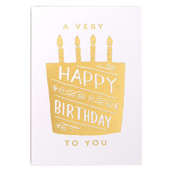 Steph Baxter Happy Birthday Card by Lagom Design