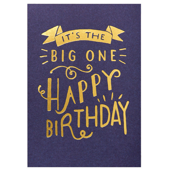 Steph Baxter It's the Big One Card by Lagom Design