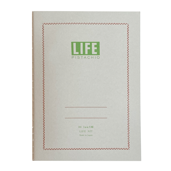 Pistachio Notebook B6 by Life
