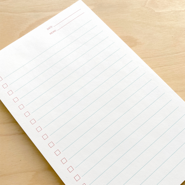 List Note Pad by Iron Curtain Press