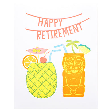 Happy Retirement Card by Lucky Horse Press