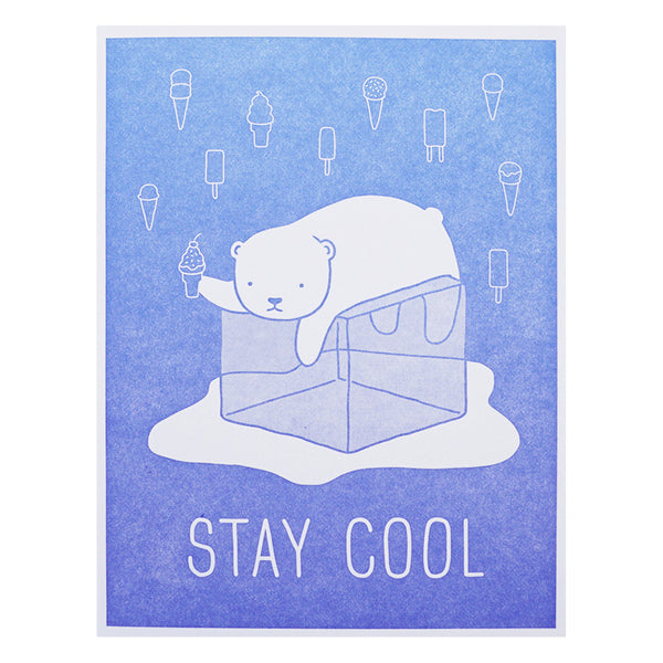 Lucky Horse Press Stay Cool Card