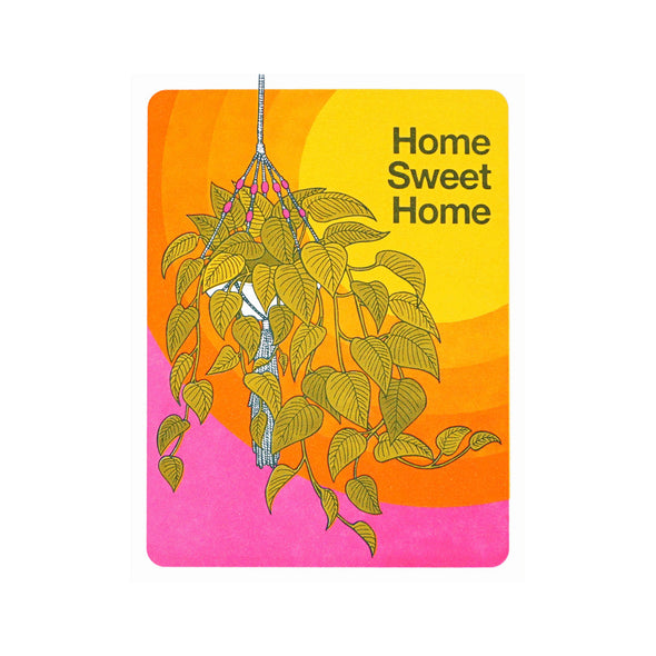 Home Sweet Home Card by Lucky Horse Press