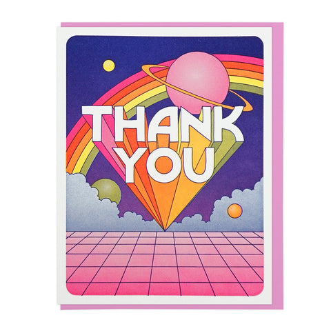 Thank You Universe Card by Lucky Horse