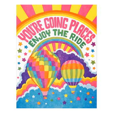 You're Going Places Card by Lucky Horse