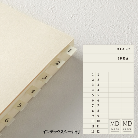 MD 1 Day 1 Page A5 Notebook by Midori