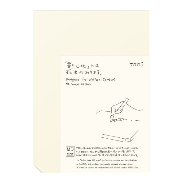 MD Paper Pad A5 Blank by Midori