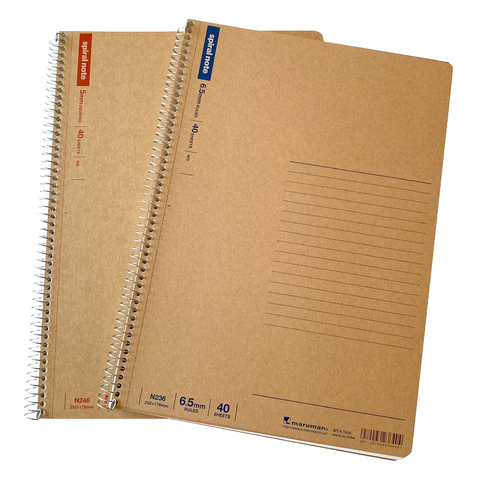 Spiral Notebook by Maruman