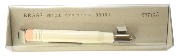 White Brass Pencil by Midori