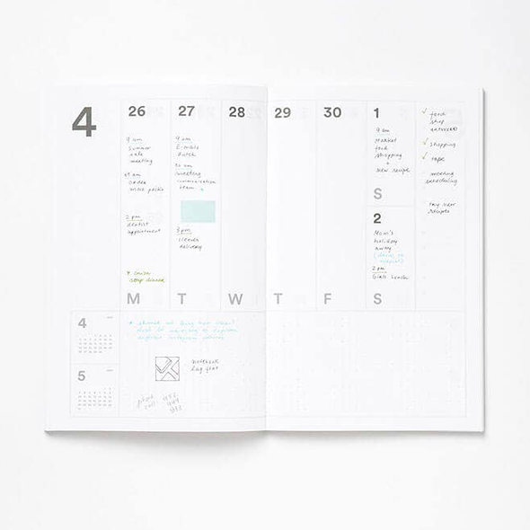 2020-2021 17-month Monthly & Weekly Planner by Mishmash