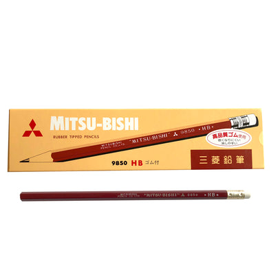9850 HB Pencil by Mitsubishi