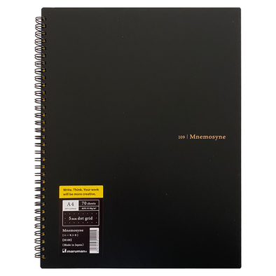 Mnemosyne 109 Notebook A4 Dot Grid by Maruman