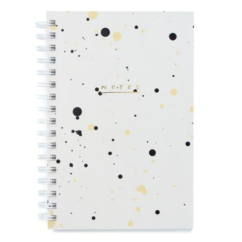 Painted Notebook Pebble Drip by Moglea