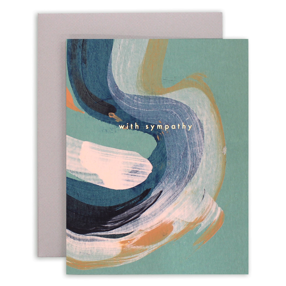 Sympathy Swirl Card by Moglea
