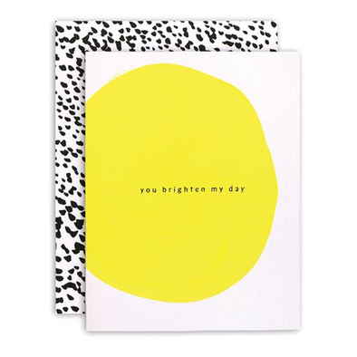 Brighten My Day Card by Moglea