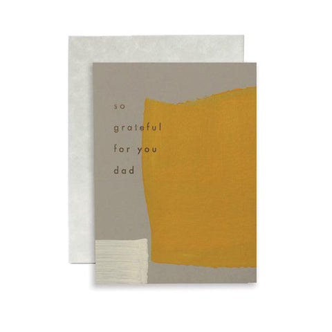 So Grateful For You Dad Card by Moglea