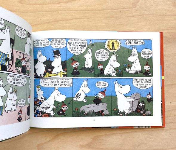 Moomin Builds a House by Tove Jansson