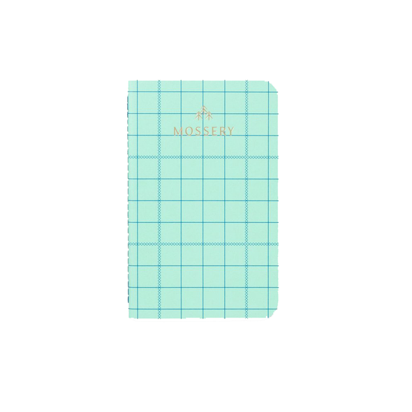 Grid Pocket Notebook by Mossery