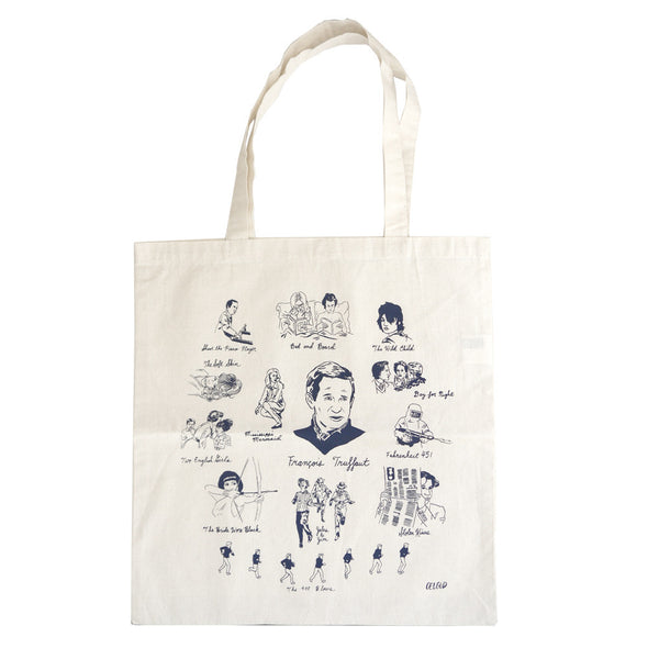 François Truffaut Tote by Nathan Gelgud