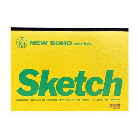 New Soho Series Sketch Pad B5 by Maruman