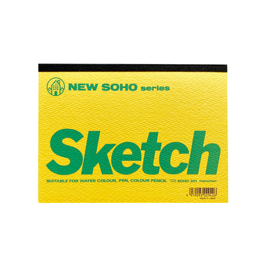 New Soho Series Sketch Pad B6 by Maruman