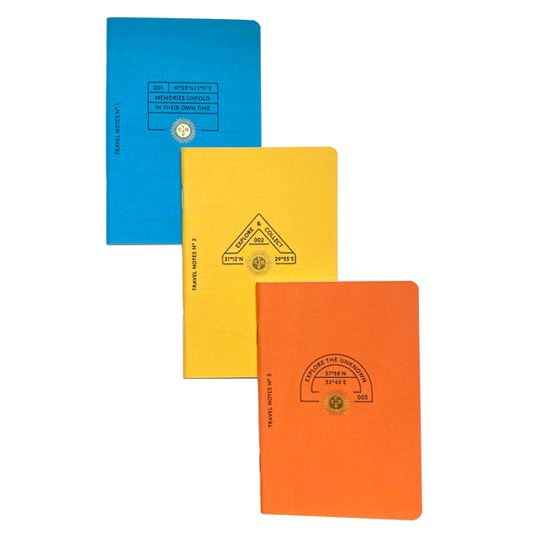 Travel Passport Notes Set by Octaevo