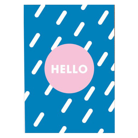 Hello Card by Oelwein