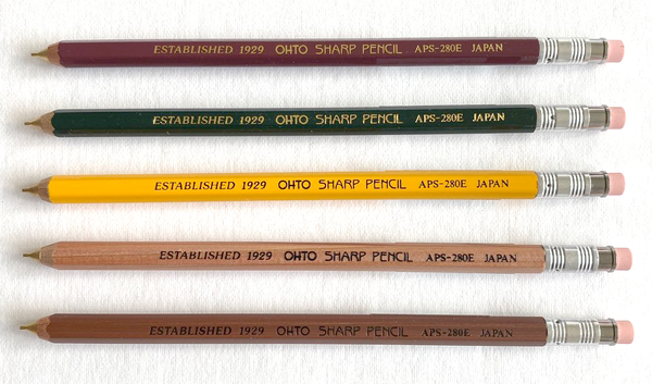 Wooden Mechanical Pencil by Ohto